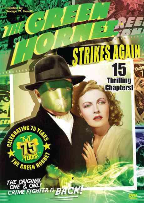 GREEN HORNET STRIKES AGAIN 75TH ANN E BY HULL,WARREN (DVD)