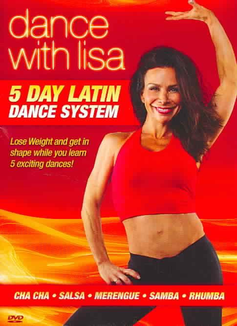 DANCE WITH LISA:5 DAY LATIN DANCE SYS BY NUNZIELLA,LISA (DVD)